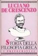 Cover of Storia della filosofia greca