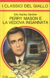Cover of Perry Mason e la vedova ingannata