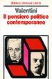 Cover of Il pensiero politico contemporaneo