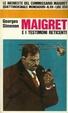 Cover of Maigret e i testimoni reticenti