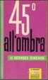 Cover of 45° all'ombra