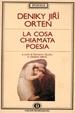 Cover of La cosa chiamata poesia