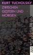 Cover of Zwischen Gestern und Morgen