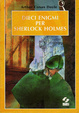 Cover of Dieci enigmi per Sherlock Holmes