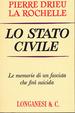Cover of Lo stato civile