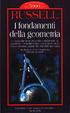 Cover of I fondamenti della geometria