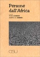 Cover of Persone dall'Africa