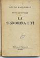 Cover of La signorina Fifì