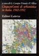 Cover of Cinquant'anni di urbanistica in Italia, 1942-1992