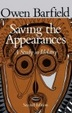 Cover of Saving the Appearances