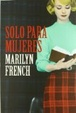 Cover of Solo para mujeres
