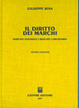 Cover of Il diritto dei marchi