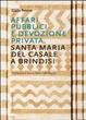 Cover of Affari pubblici e devozione privata