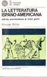 Cover of La letteratura ispano-americana