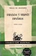 Cover of Andanzas y visiones españolas