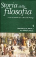 Cover of Storia della filosofia - vol. 1