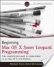 Cover of Beginning Mac OS X Snow Leopard Programming
