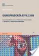 Cover of Giurisprudenza civile. Guida ragionata per la prova scritta dell'esame di avvocato e magistrato ordinario