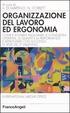Cover of Organizzazione del lavoro ed ergonomia