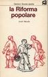 Cover of La Riforma popolare