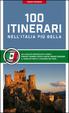 Cover of 100 itinerari nell'Italia più bella