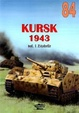 Cover of No. 084 - Kursk 1943 - Vol. 1 Zitadelle