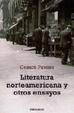 Cover of Literatura norteamericana y otros ensayos