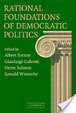 Cover of Rational Foundations of Democratic Politics