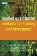 Cover of Applied Quantitative Methods for Trading and Investment