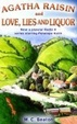 Cover of Agatha Raisin and Love, Lies and Liquor