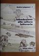 Cover of Introduzione Alla Cultura Letteraria del Giappone
