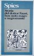 Cover of Storia del dottor Faust, ben noto mago e negromante