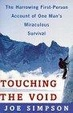 Cover of Touching the Void