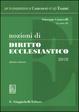 Cover of Nozioni di diritto ecclesiastico