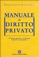Cover of Manuale di Diritto privato