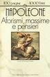 Cover of Aforismi, massime e pensieri