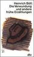 Cover of Die Verwundung und andere frühe Erzählungen
