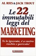 Cover of Le 22 immutabili leggi del marketing