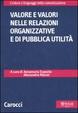 Cover of Valore e valori nelle relazioni