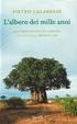 Cover of L'albero dei mille anni