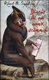 Cover of Diario di un uomo scimmia