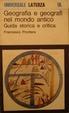 Cover of Geografia e geografi nel mondo antico