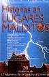 Cover of Historias en lugares malditos