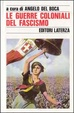Cover of Le guerre coloniali del fascismo