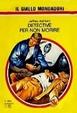 Cover of Detective per non morire