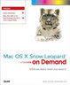 Cover of Mac OS X Snow Leopard on Demand