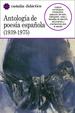 Cover of Antología de la poesía española (1939-1975)