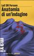 Cover of Anatomia di una indagine