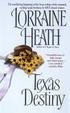 Cover of Texas Destiny