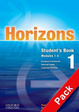 Cover of Horizons. Starter module. Studen